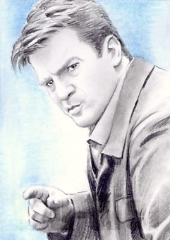 Nathan Fillion by wu-wei